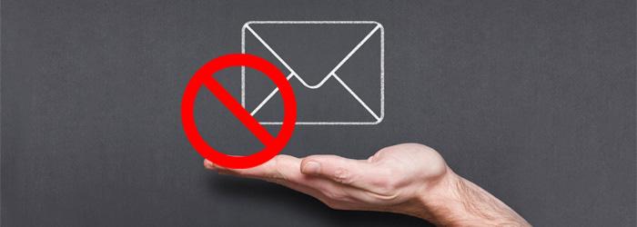 ارسال پیام به بلک لیست